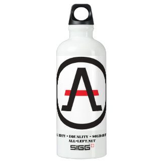The ALLiance of the Libertarian Left of Hydration Water Bottle