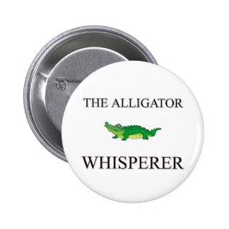The Alligator Whisperer Button