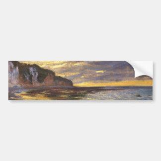 The Ally Point, Low Tide - Claude Monet Bumper Sticker