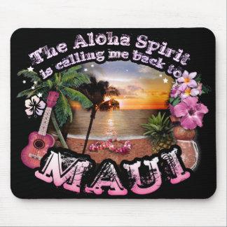 The Aloha Spirit is calling me back to Maui Mouse Mat