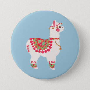 The Alpaca 7.5 Cm Round Badge
