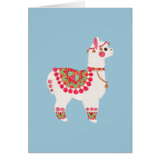 The Alpaca Greeting Card