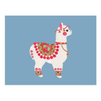 The Alpaca Postcard