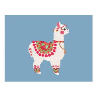 The Alpaca Postcard