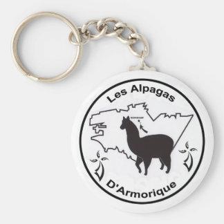 The Alpacas D' Armorique Key Ring