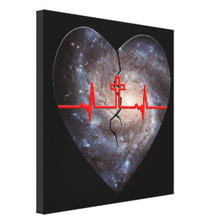 The Alpha and Omega holds it all together. Gallery Wrap Canvas