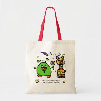the alphabet book - Allen & Arnie - tote bag