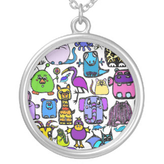 the alphabet book characters necklace