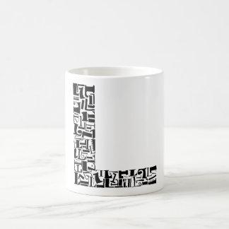The Alphabet Letter L Basic White Mug