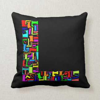 Alphabet Letter Cushions - Alphabet Letter Scatter Cushions Zazzle.co.uk