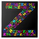The Alphabet Letter Z