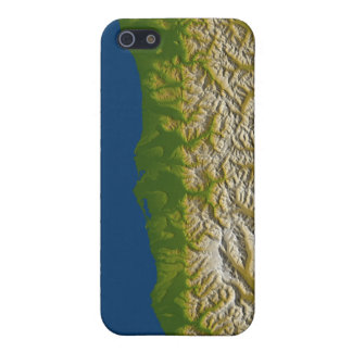 The Alpine fault along the west coast iPhone 5/5S Cases