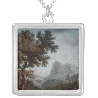 The Alpine Shepherdess Silver Plated Necklace