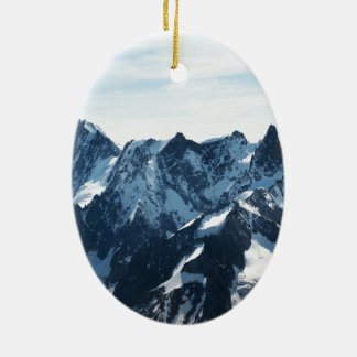 The Alps - magnificent! Ceramic Oval Decoration