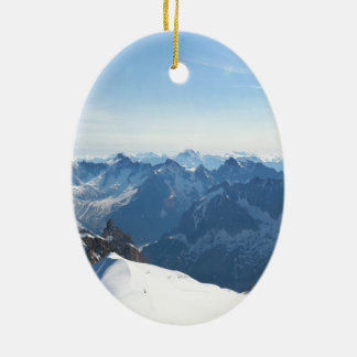 The Alps - magnificent! Christmas Ornaments
