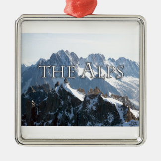 The Alps - Magnificent! Christmas Ornament