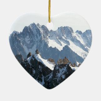 The Alps mountain range - Stunning! Ornaments
