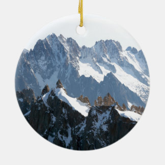 The Alps mountain range - Stunning! Ornament