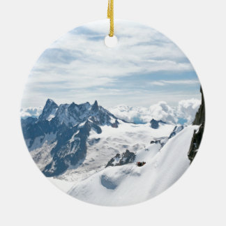 The Alps mountain range - Stunning! Christmas Ornaments