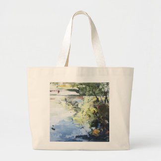 The Alster in High Summer Hamburg 2013 Large Tote Bag