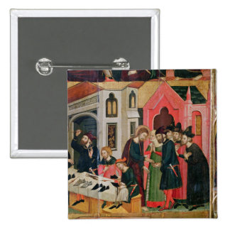 The Altarpiece of SS. Mark and Ania 15 Cm Square Badge