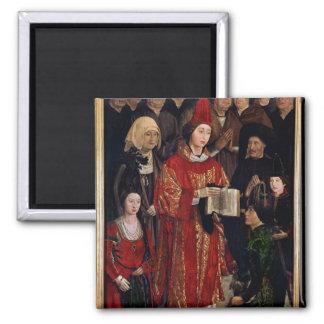 The Altarpiece of St. Vincent Square Magnet
