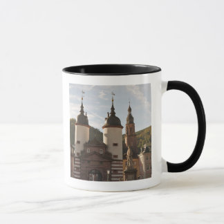 The Alte Brucke in Old Town, Heidelberg, Germany Mug