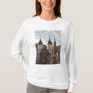 The Alte Brucke in Old Town, Heidelberg, Germany T-Shirt