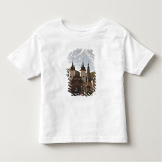The Alte Brucke in Old Town, Heidelberg, Germany Toddler T-Shirt