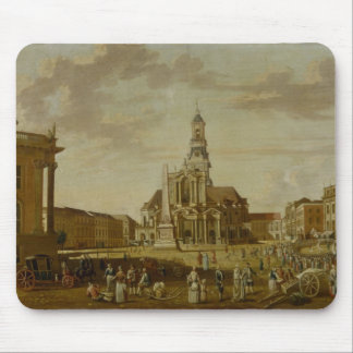The Alter Markt with the Church of St. Mouse Pad