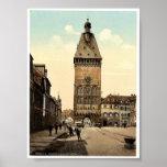 The Altportel, Speyer, the Rhine, Germany rare Pho Poster