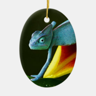The Amazing Chameleon Christmas Ornament