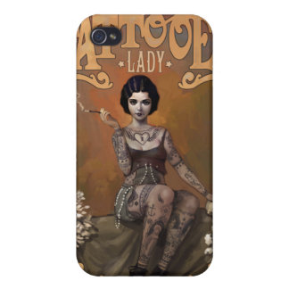The Amazing Tattooed Lady Cases For iPhone 4