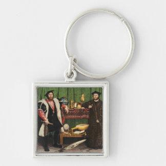 The Ambassadors, 1533 Key Ring