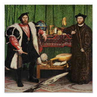 The Ambassadors 1533 Poster