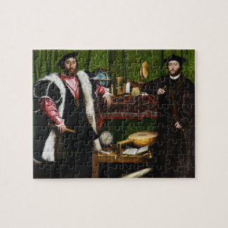 The Ambassadors by Hans Holbein the Younger Jigsaw Puzzle