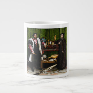 The Ambassadors by Hans Holbein the Younger Extra Large Mug