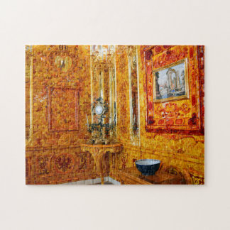 The Amber Room, Catherine Palace, Russia Jigsaw Puzzle