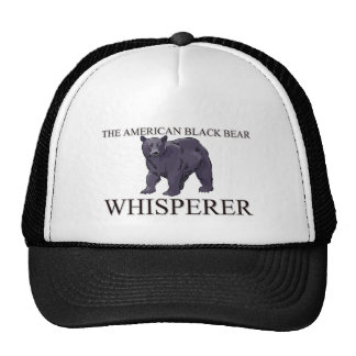 The American Black Bear Whisperer Trucker Hat