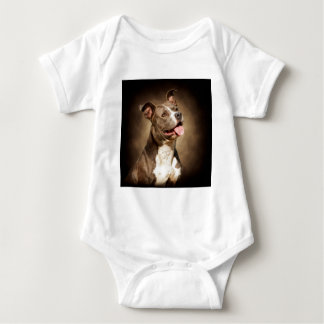 The American Blue Pit-Bull Baby Bodysuit