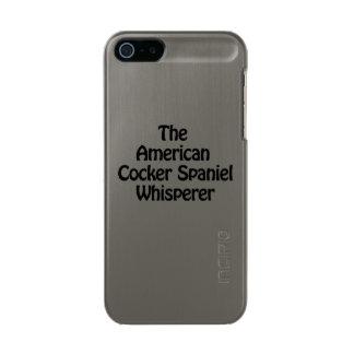 the american cocker spaniel whisperer incipio feather® shine iPhone 5 case