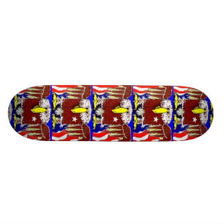 The American Eagle Flyer 18.1 Cm Old School Skateboard Deck