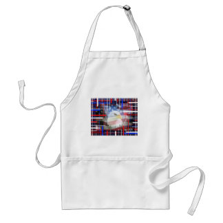 The American Eagle, red white and blue. Standard Apron