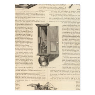 The American Fire Alarm and Police Telegraph Postcard