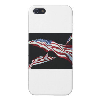 The American Flag - Blown in the Wind iPhone 5 Cover