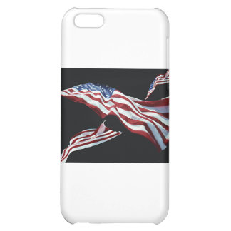 The American Flag - Blown in the Wind iPhone 5C Cover
