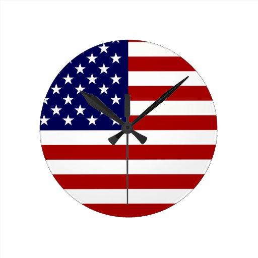 The American Flag Clocks