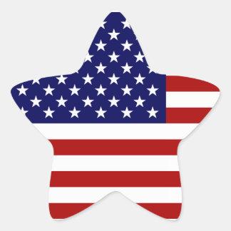 The American Flag Star Sticker