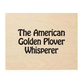 the american golden plover whisperer wood prints
