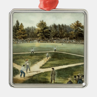 The American National Game of Baseball Christmas Ornament